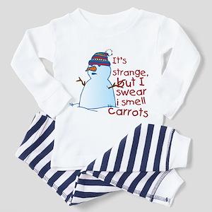 Smell Carrots Toddler Pajamas
