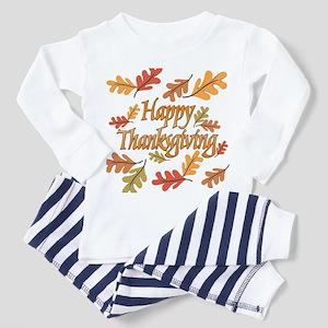 Happy Thanksgiving Toddler Pajamas