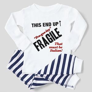 A Christmas Story Fragile Italian black Pajamas