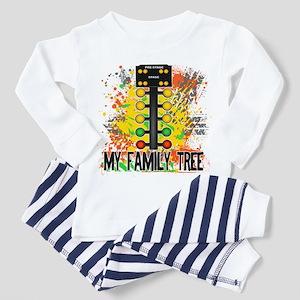 My Family Tree Toddler Pajamas