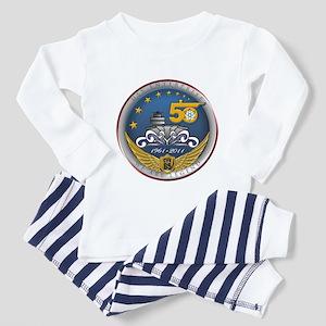 USS Enterprise CVN-65 50th An Toddler Pajamas