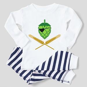 Pirate Hop Toddler Pajamas