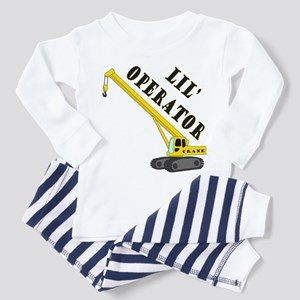 Lil' Crane Operator Toddler Pajamas