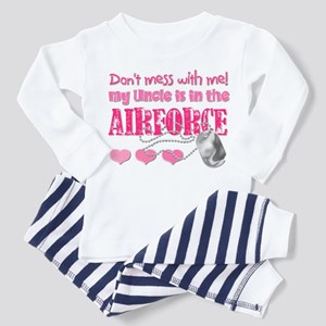 Don't Mess with Me (Air Force Toddler Pajamas