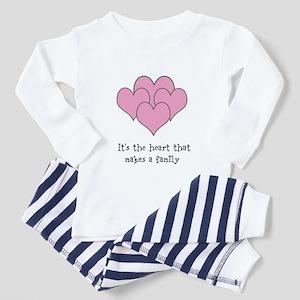 many hearts Toddler Pajamas