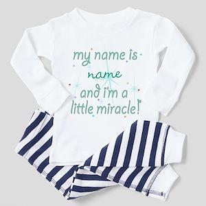 Custom Little Miracle Toddler Pajamas