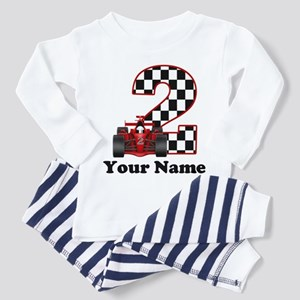 2nd Birthday Race Car Toddler Pajamas