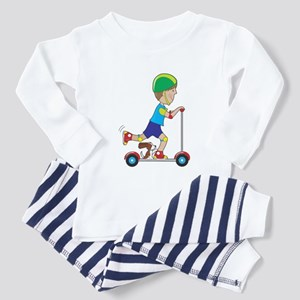 Scooter Boy Toddler Pajamas