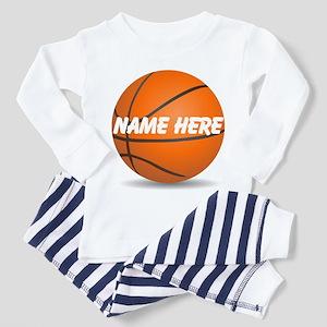 Customizable Basketball Ball Toddler Pajamas
