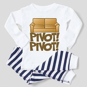 Pivot! Pivot! [Friends] Toddler Pajamas