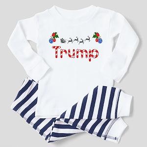 Trump, Christmas Toddler Pajamas