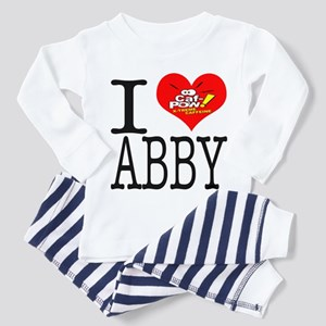 I Heart Abby and Caf-Pow of NCIS Fame Toddler T-Sh