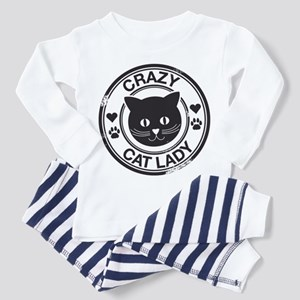Crazy Cat Lady Toddler Pajamas