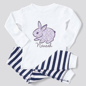 Purple chic bunny Pajamas