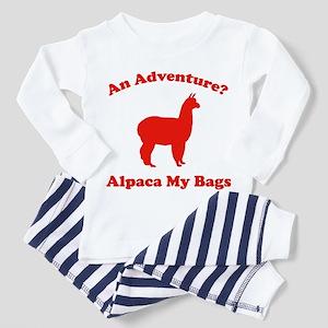 An Adventure? Alpaca My Bags Toddler Pajamas