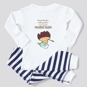 Cowboy Baby Toddler Pajamas