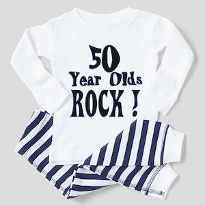 50 Year Olds Rock ! Toddler Pajamas