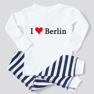 I Love Berlin Toddler Pajamas