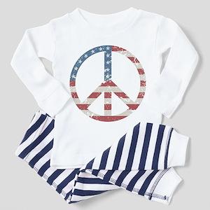Vintage Peace USA Toddler Pajamas