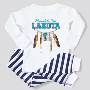 Proud to be Lakota Toddler Pajamas