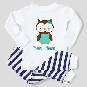 Personalized Owl Toddler Pajamas