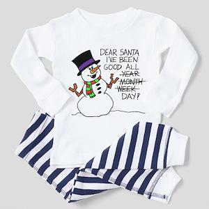 Santa Good All Day Pajamas