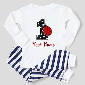 1 Ladybug ANY NAME! Pajamas