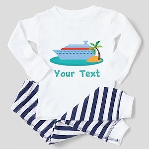 Personalized Cruise Ship Toddler Pajamas