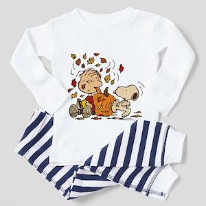 Fall Peanuts Toddler Pajamas