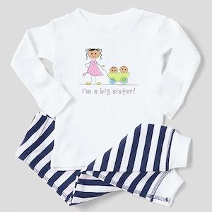 I'm a big sister Pajamas: twins