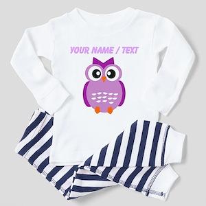 Custom Purple Owl Pajamas