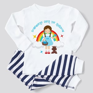 Dorothy Over The Rainbow Toddler Pajamas