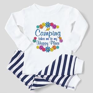 Camping Happy Place Toddler Pajamas