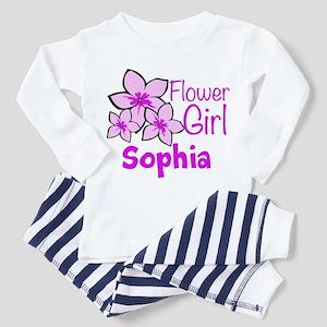 Customized Flower Girl Toddler Pajamas