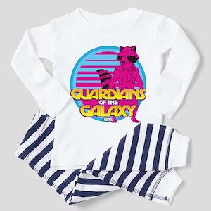 Rocket Pink Toddler Pajamas