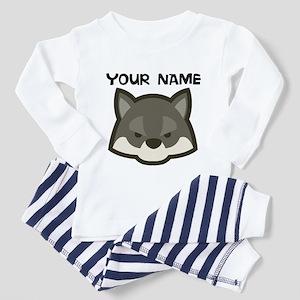 Custom Wolf Pajamas