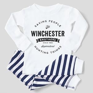 SUPERNATURAL Winchester Bros black Toddler Pajamas