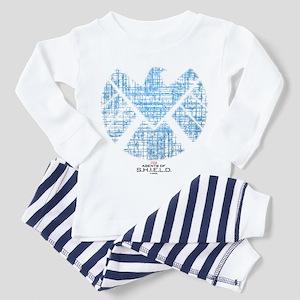 SHIELD Logo Alien Writing Toddler Pajamas