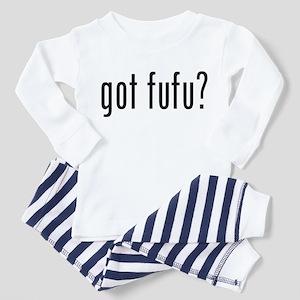 Got Fufu? Toddler Tee Pajamas
