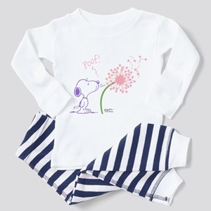 Snoopy Dandelion Toddler Pajamas