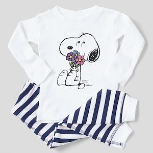 Springtime Snoopy Toddler Pajamas