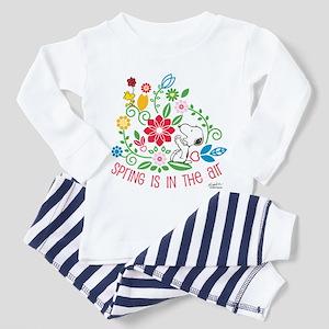Snoopy Spring Toddler Pajamas