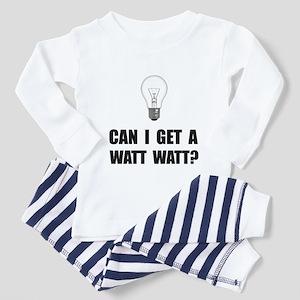 Watt Watt Light Bulb Pajamas