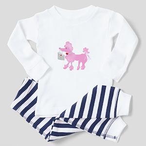 Pink Poodle Toddler Pajamas