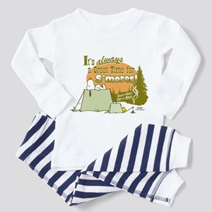Snoopy Smores Pajamas