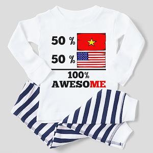 Half Vietnamese Half American Pajamas