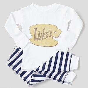 Vintage Gilmore Girls Lukes Diner Pajamas
