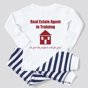 Real Estate Agent in Training Pajamas