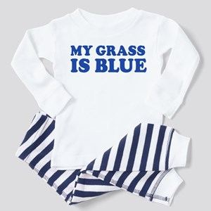 MY GRASS IS BLUE Toddler Pajamas