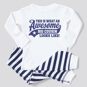 Awesome Big Cousin Toddler Pajamas